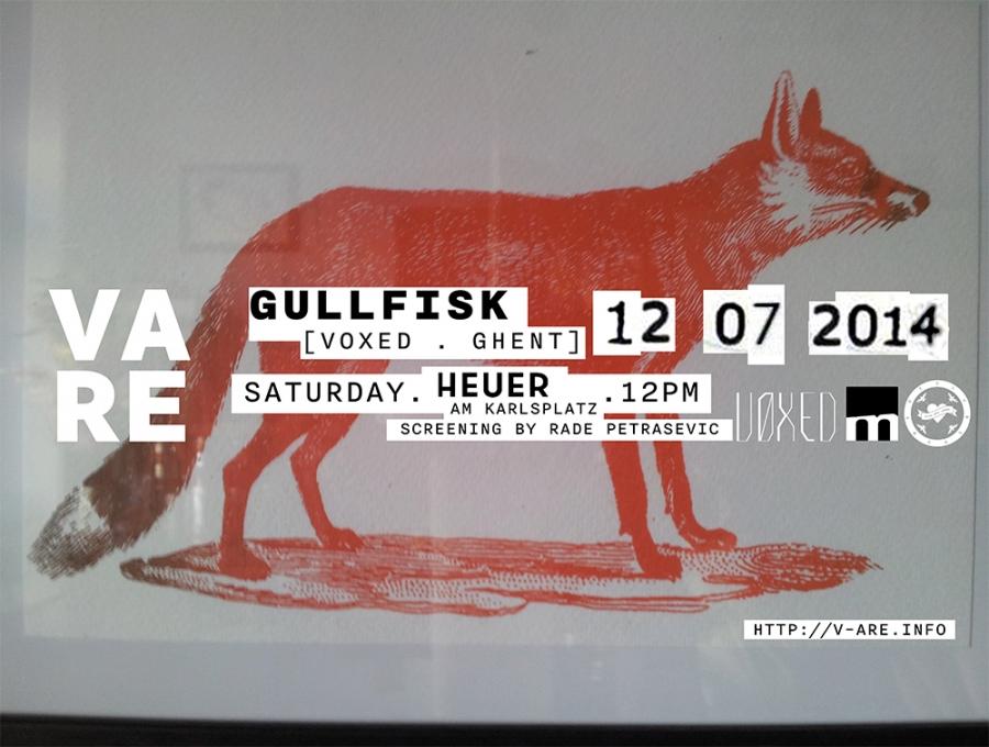 V ARE Gullfisk VOXED Vienna Heuer am Karlsplatz 12 July 2014